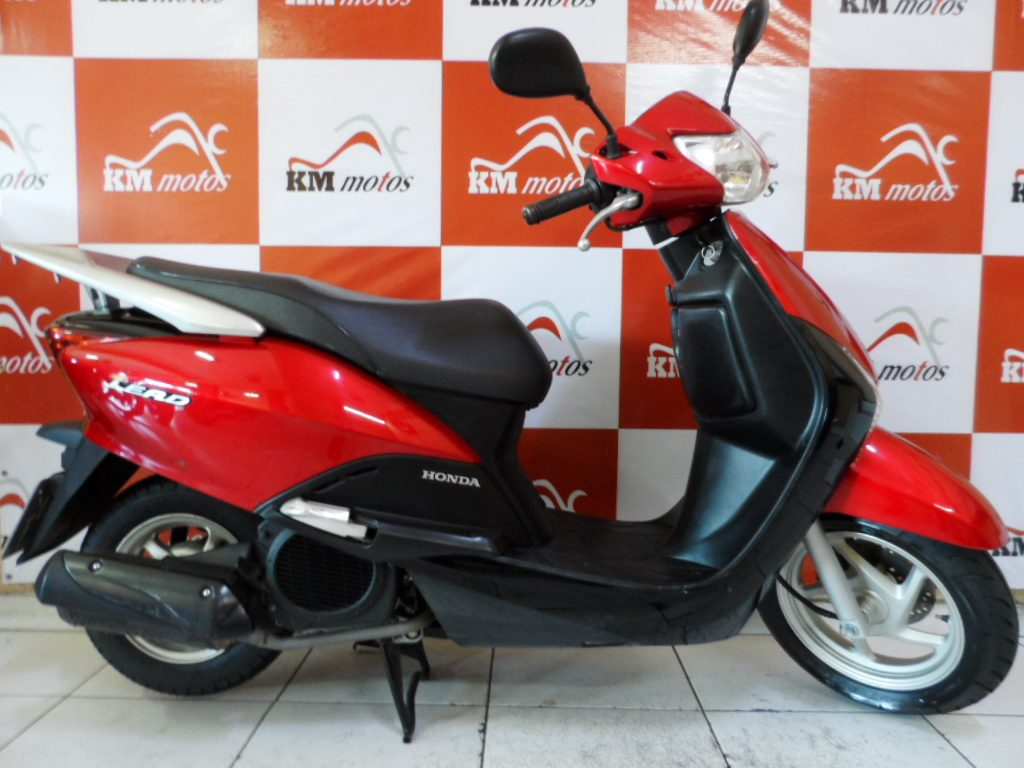 honda lead 110 2014 vermelha km motos sua loja de motos semi novas. Black Bedroom Furniture Sets. Home Design Ideas