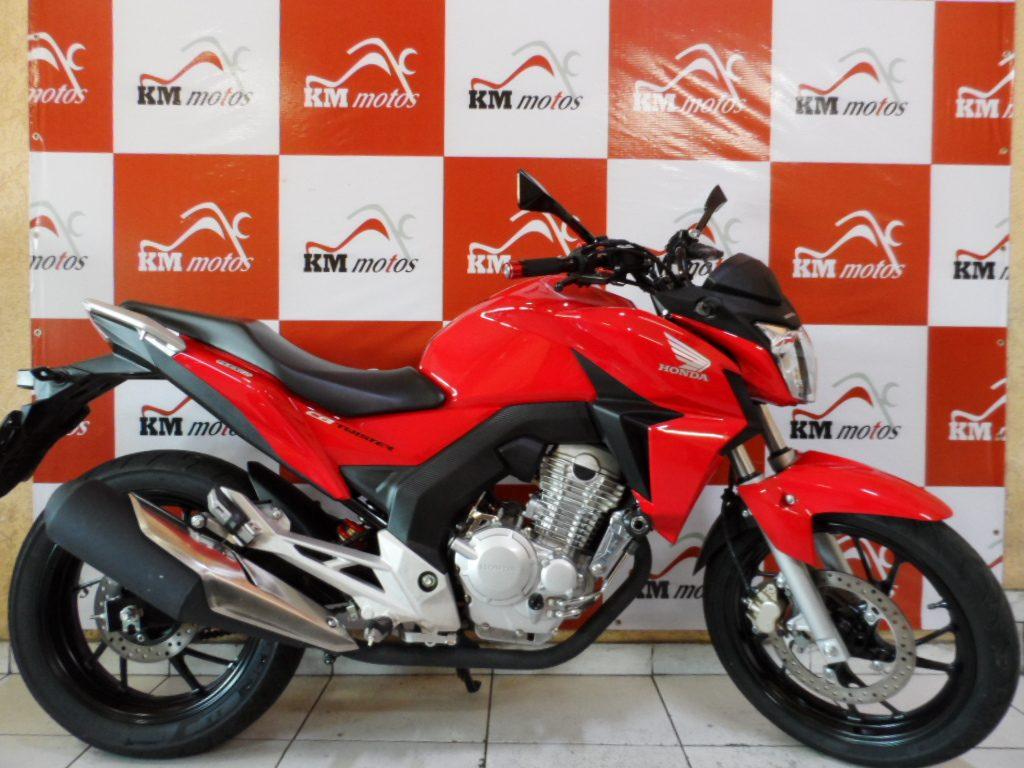 Honda CB 250F Twister 2016 Vermelha