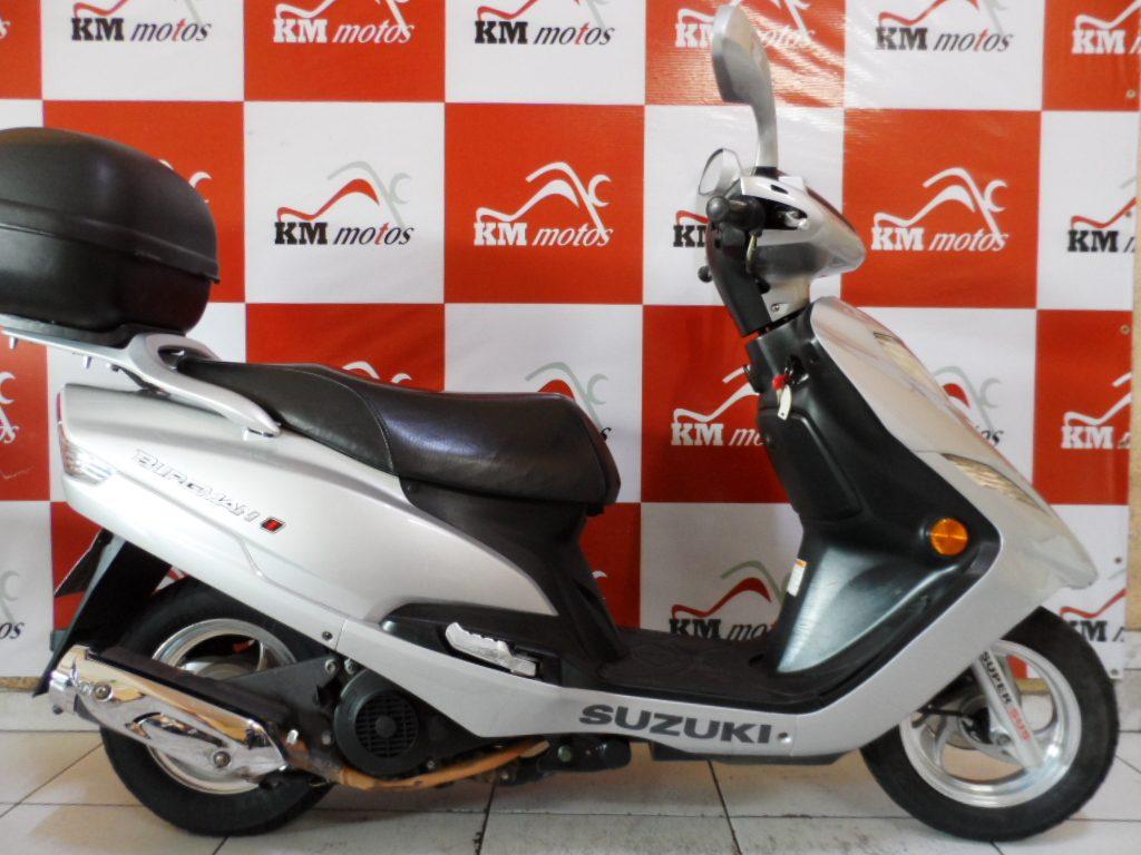 JTA Suzuki Burgman 125i 2012 Prata