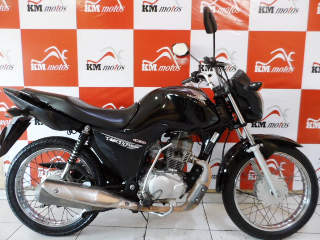 Honda CG 125 Fan KS 2014 Preta