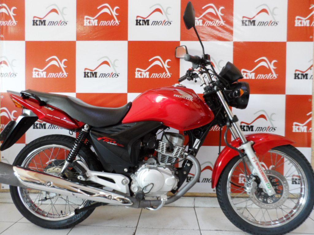 Honda CG 150 Fan ESDI 2013 Vermelha