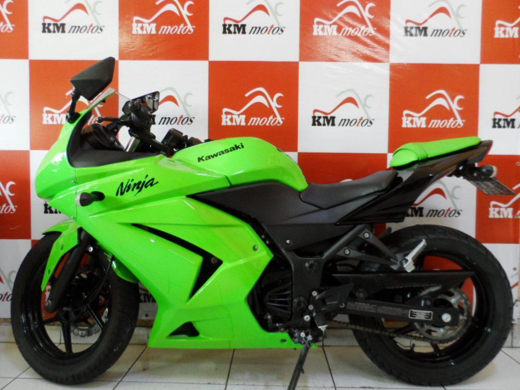 Kmmotos Ninja 250 R 10 Verde 1 Km Motos Sua Loja De Motos Semi Novas