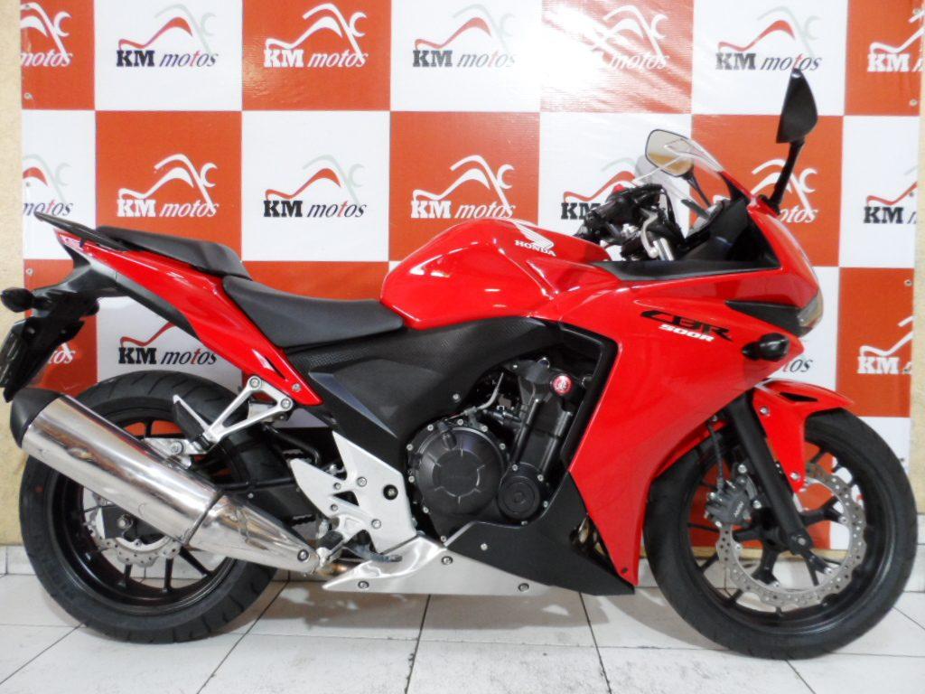 Honda CBR 500R 2014 Vermelha