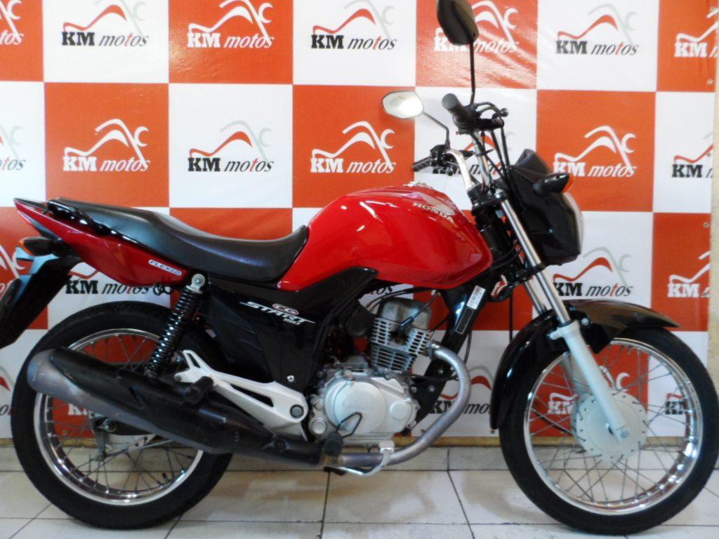 Honda CG 150 Start 2015 Vermelha