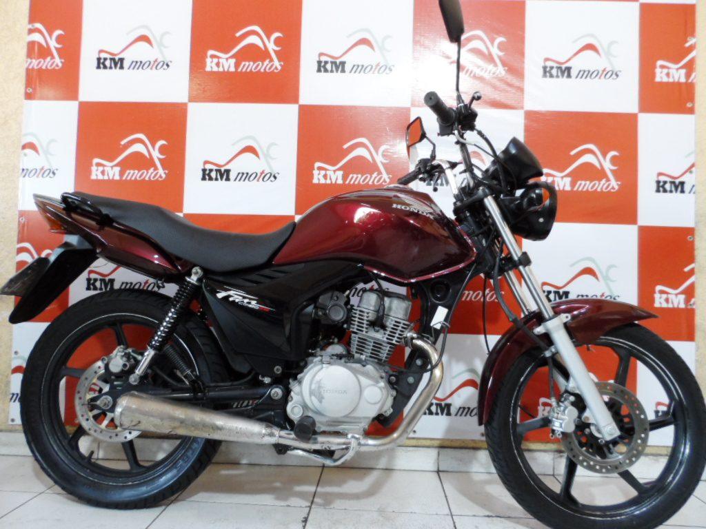Honda Cg 150 Fan Esi 2011 Vermelha Km Motos Sua Loja De Motos Semi Novas