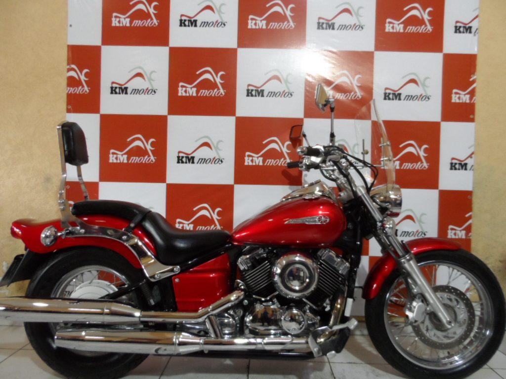 Yamaha Dragstar 650 Vermelha 2008