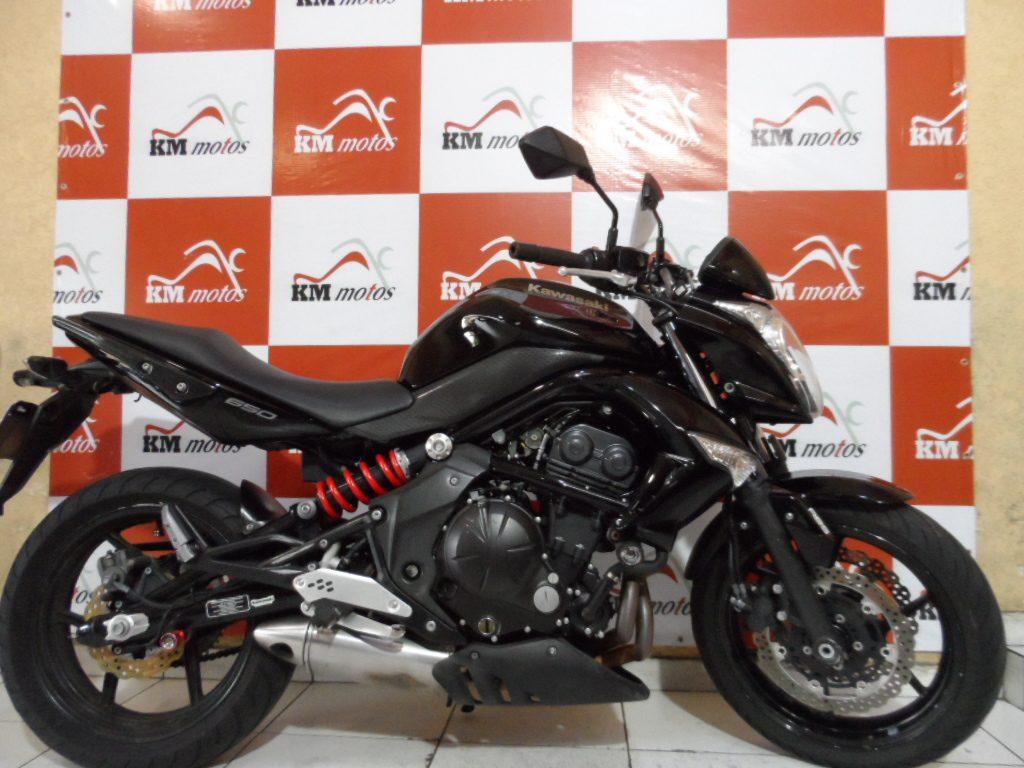 Kawasaki Er 6 N Preta 2011 (abs)