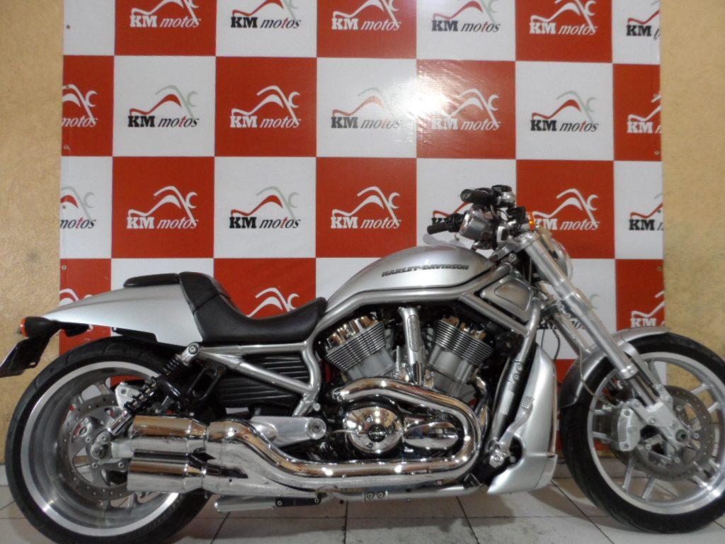 Harley Davidson V ROD 1250  ABS Prata 2012