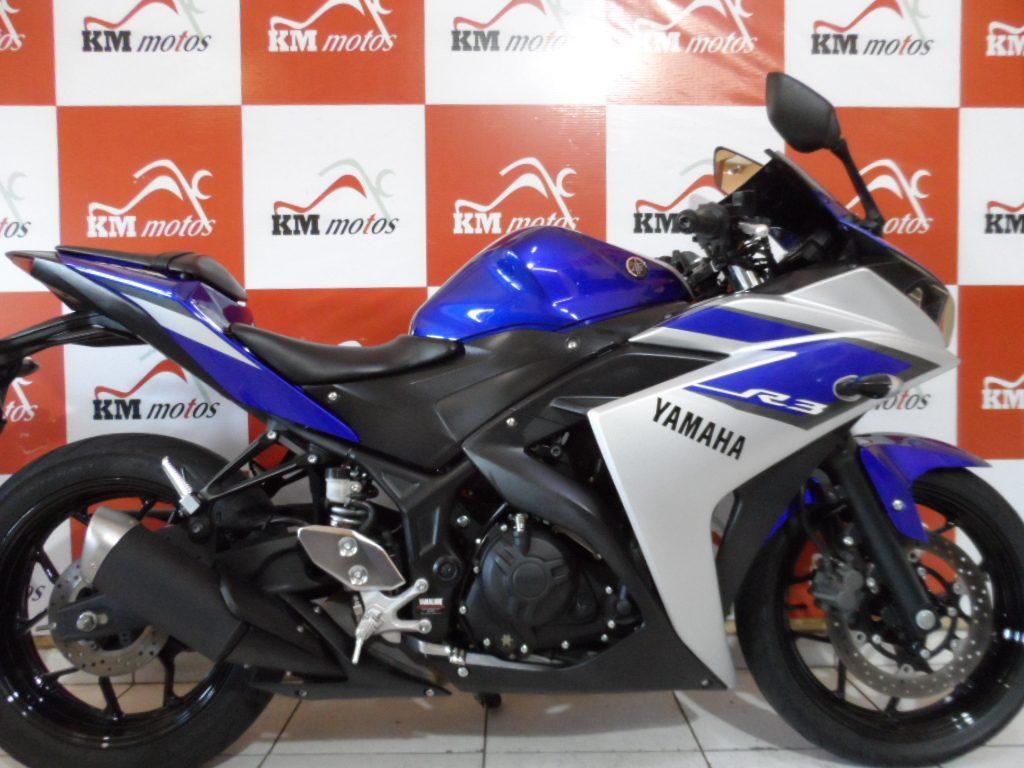 Yamaha R 3 Azul 2016