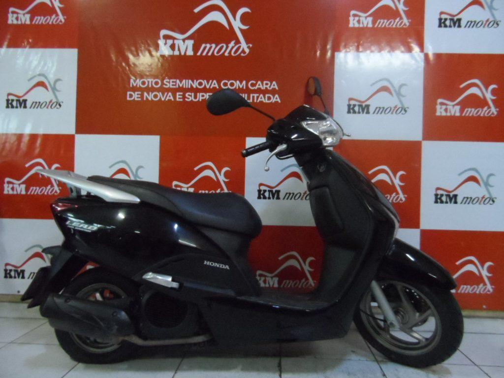 Honda Lead 110 Preta 2013