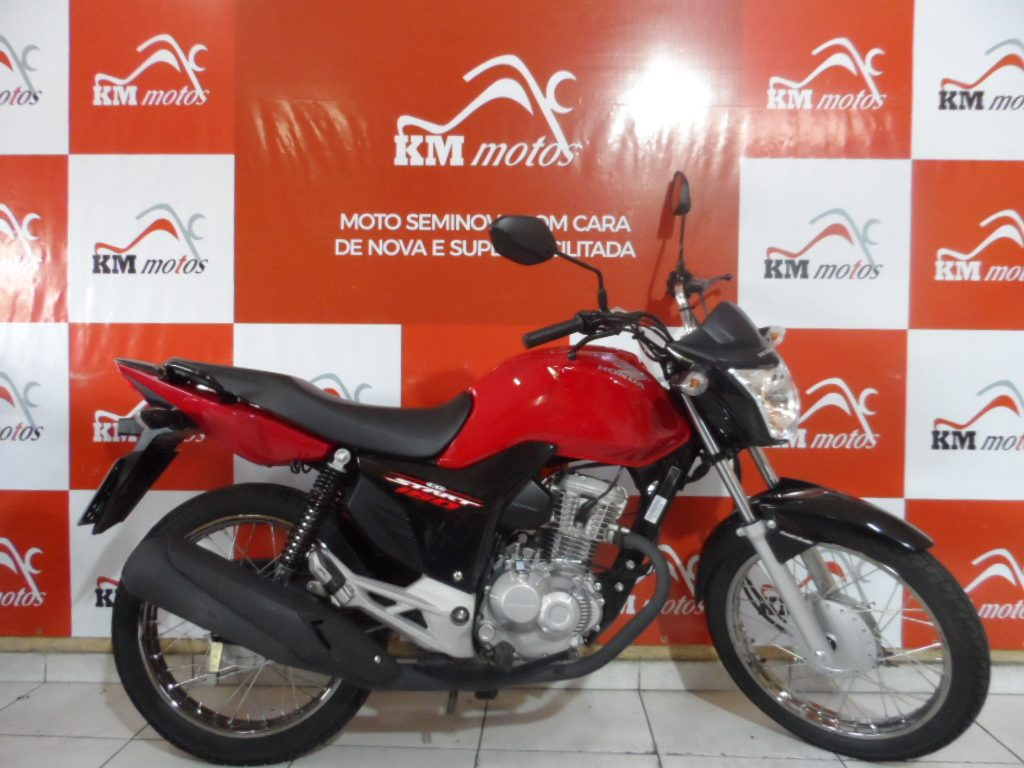 Honda CG Start 160 Vermelha 2018