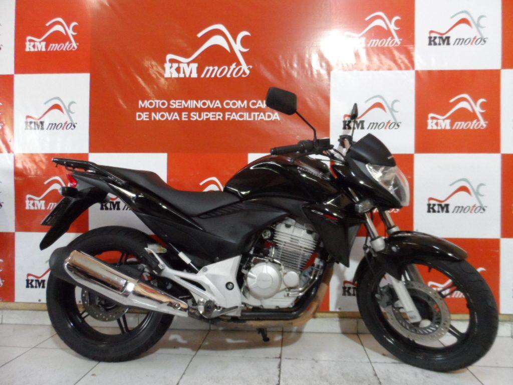 Honda CB 300 R Preta 2013