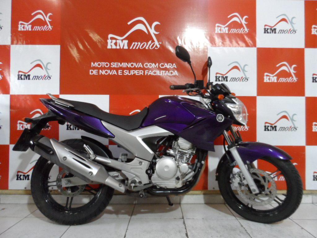 Yamaha Fazer ys 250 Roxa 2012