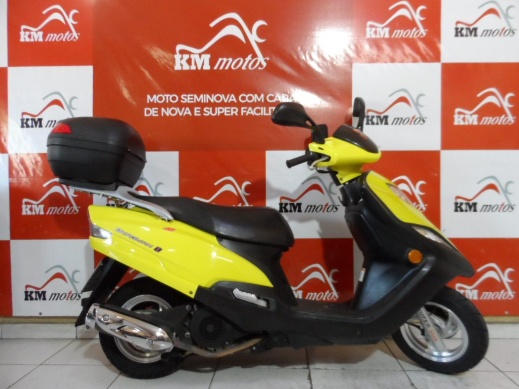 Suzuki Burgman 125 Amarela 2013