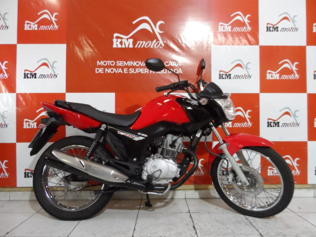 Honda Fan 150 ESDI Vermelha 2015