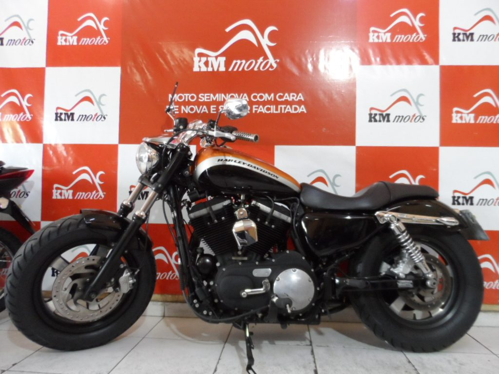 Harley Davidson XL 1200 Laranja 2014