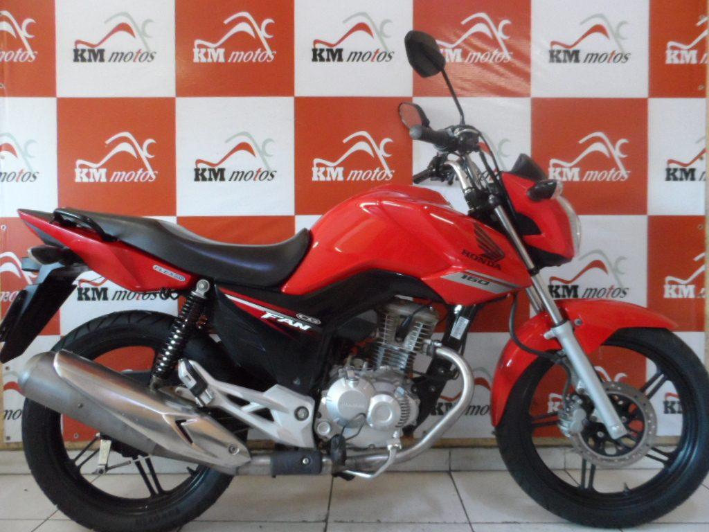 Honda Fan 160 ESDI 2016 Vermelha