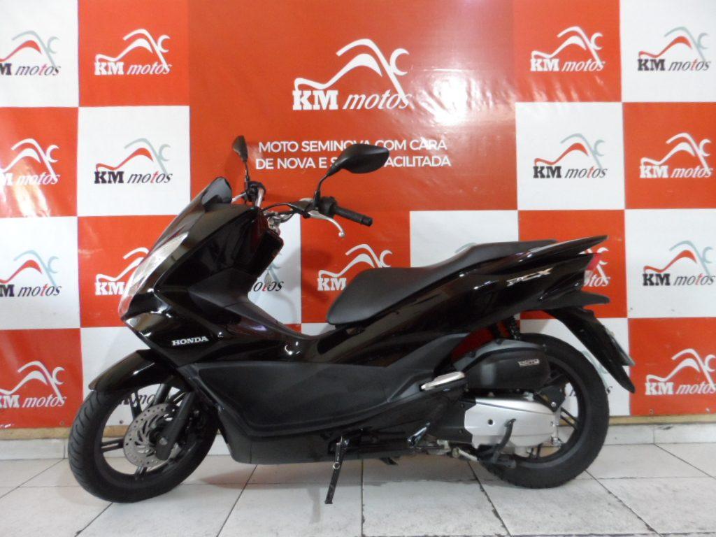 Honda Pcx 150 Preta  2016