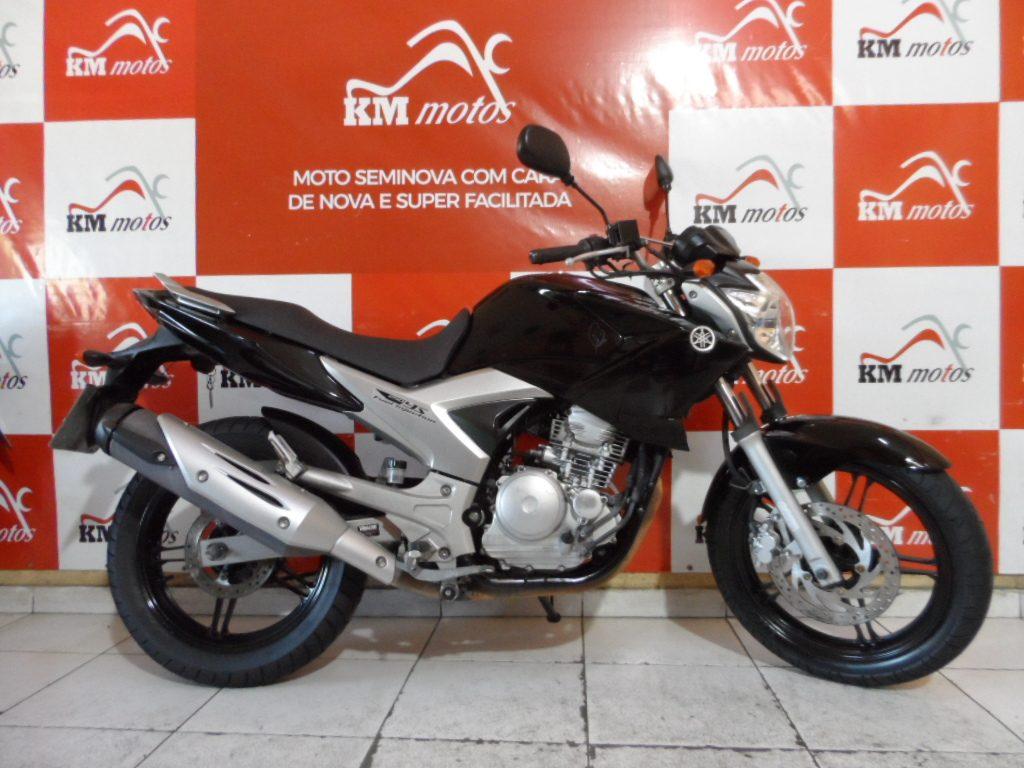 Yamaha Fazer ys 250 Preta 2012
