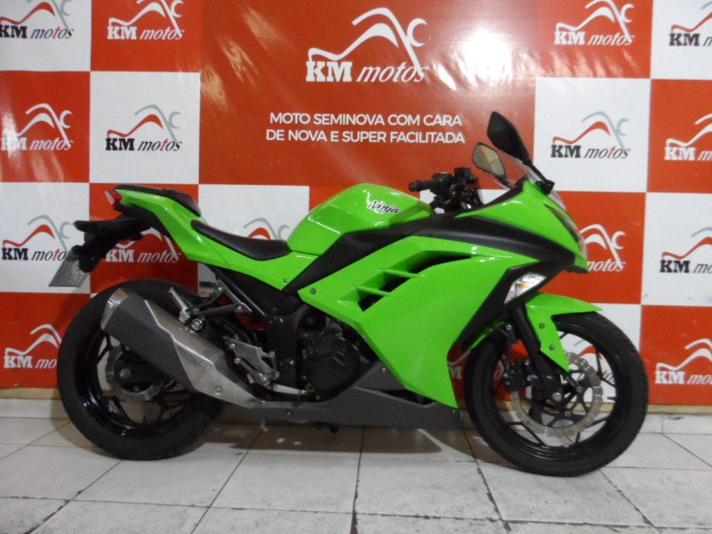 Kawasaki Ninja 300 Verde 2014