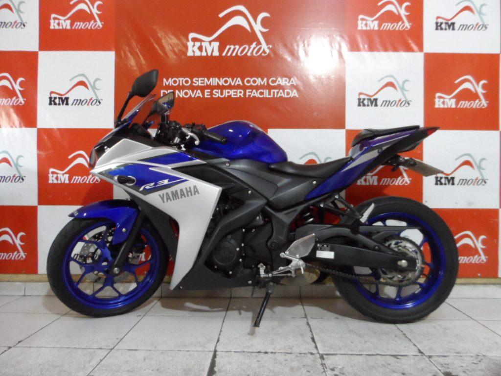 Yamaha YZF  R3 Azul 2016