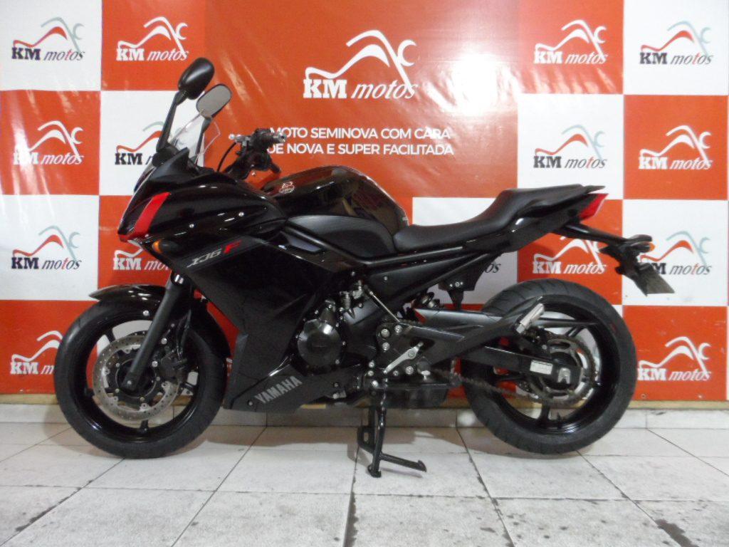 Yamaha XJ6 F Preta 2010