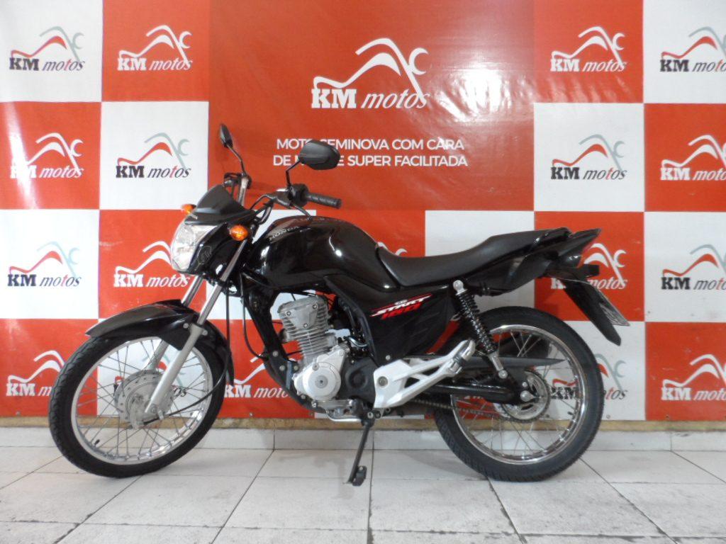 Honda Cg 160 Start 2017 Preta