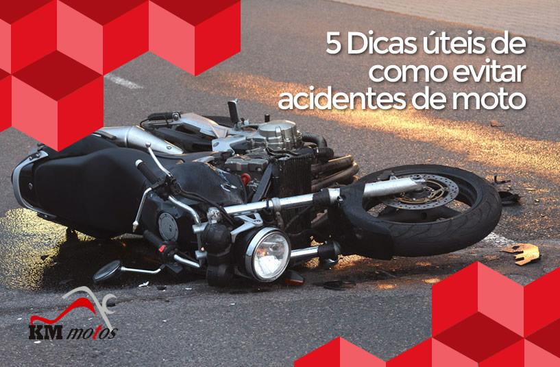 5 Dicas úteis de como evitar acidentes de moto