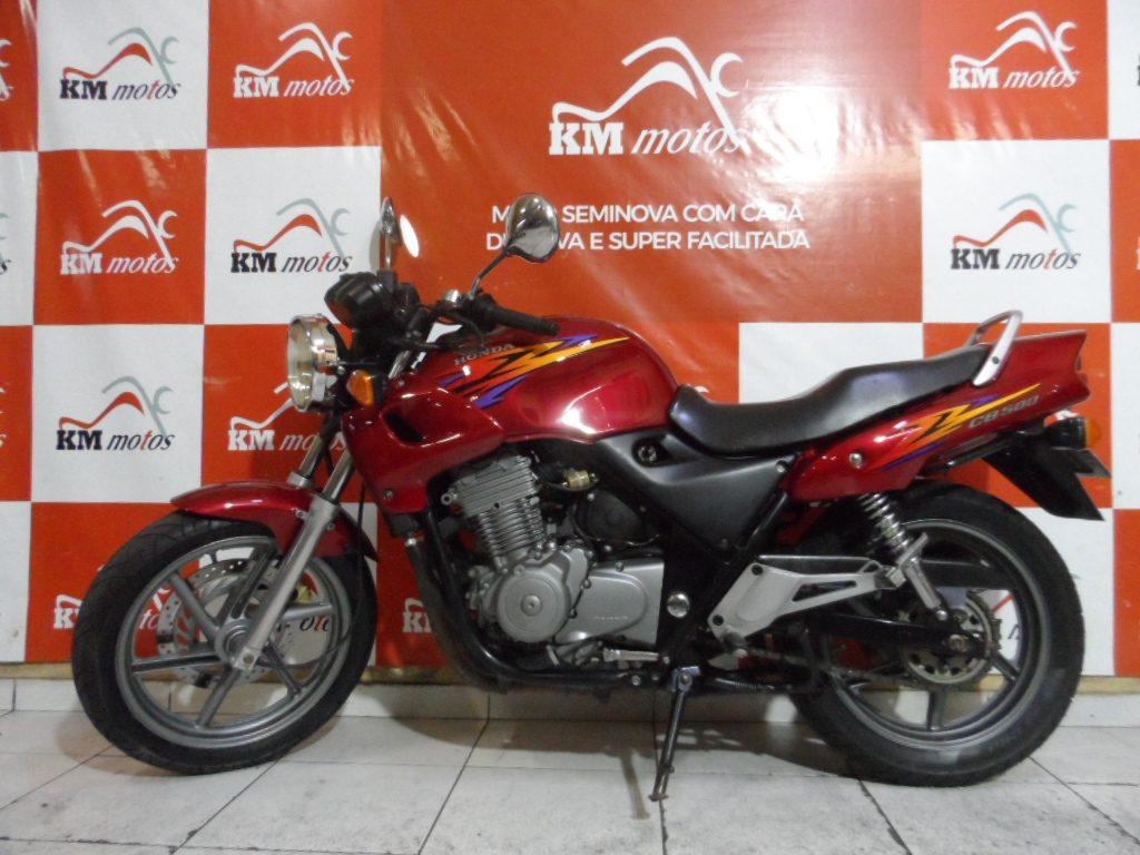 Honda CB 500 Vermelha 2000
