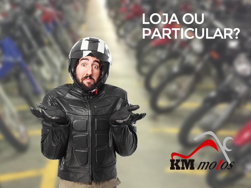 Compra de moto seminova ou usada – Particular X Loja Especializada [Não perca]