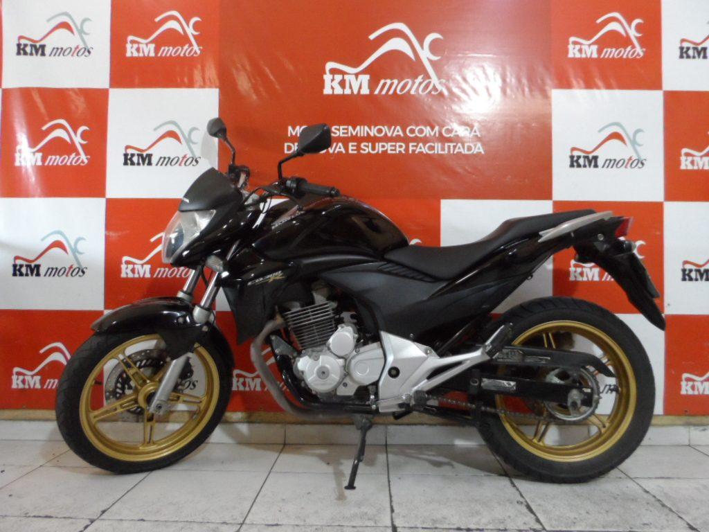Honda CB 300 R Preta 2015