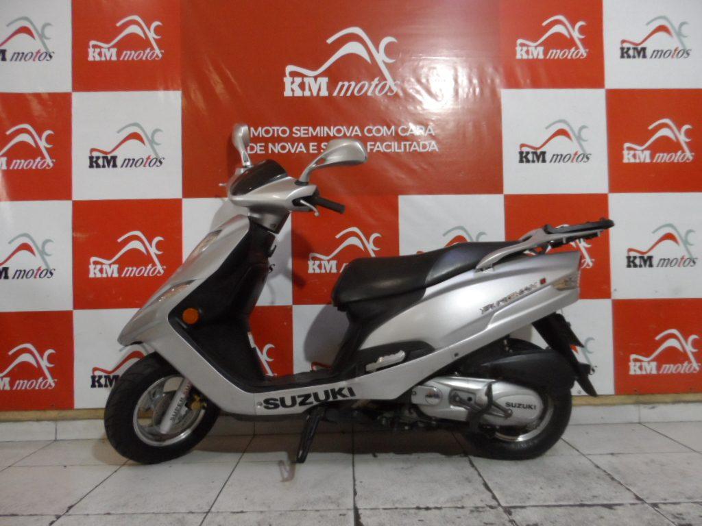 Suzuki Burgman 125 i Prata 2012