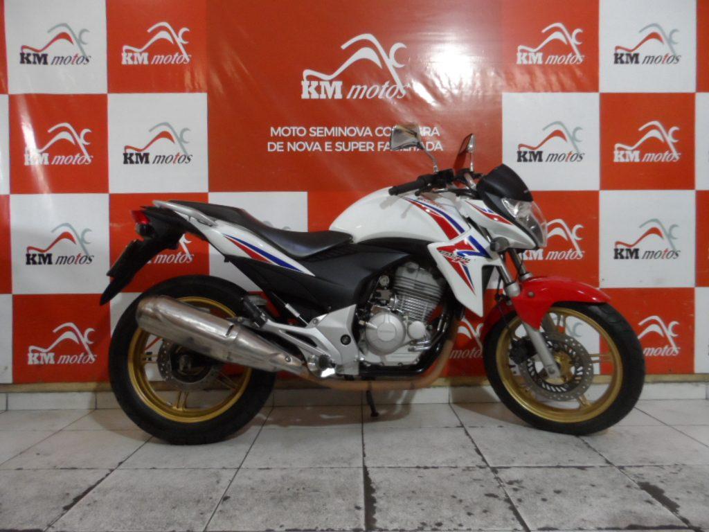 Honda CB 300 R 2015 Branca