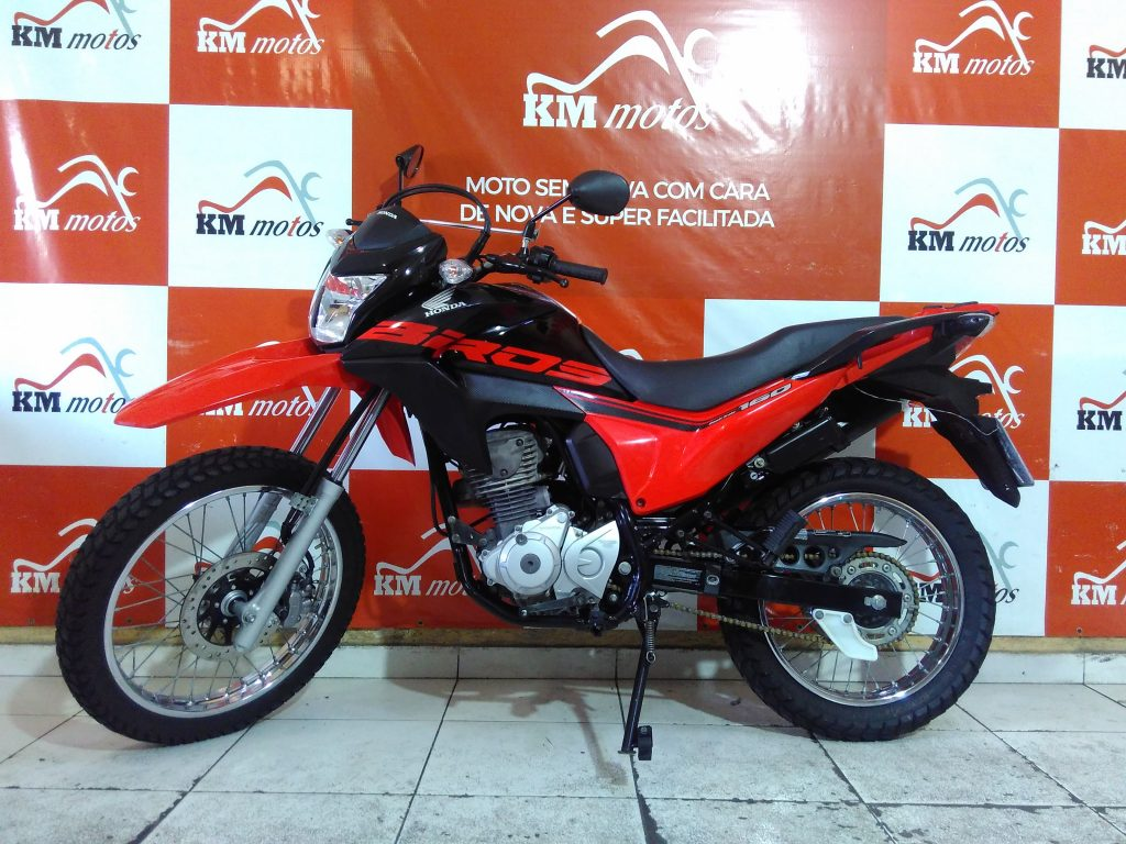 Honda NXR Bros 160 Esdd Vermelho