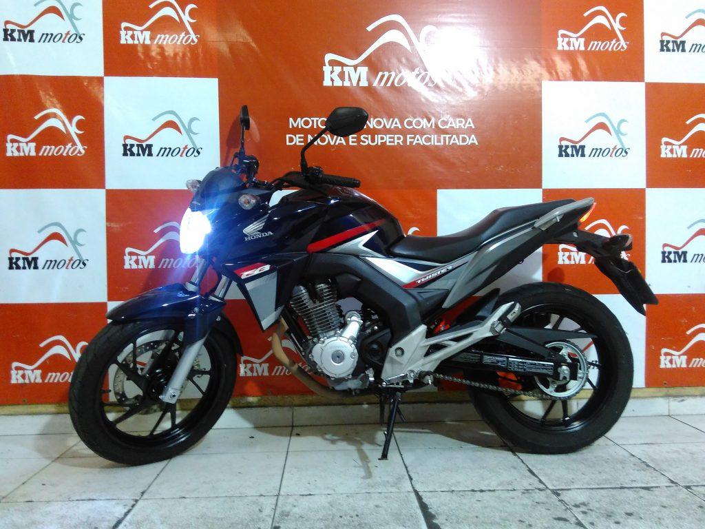 Honda CB 250 Twister 2018 Azul