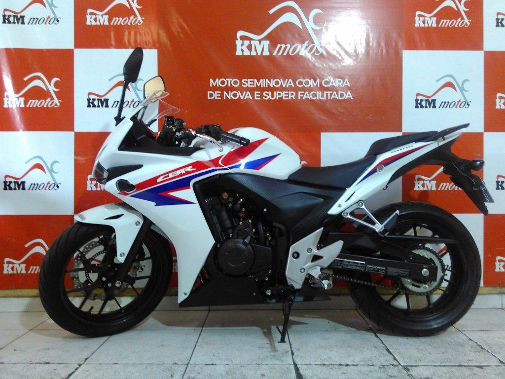 Honda CBR 500 R Branca 2014