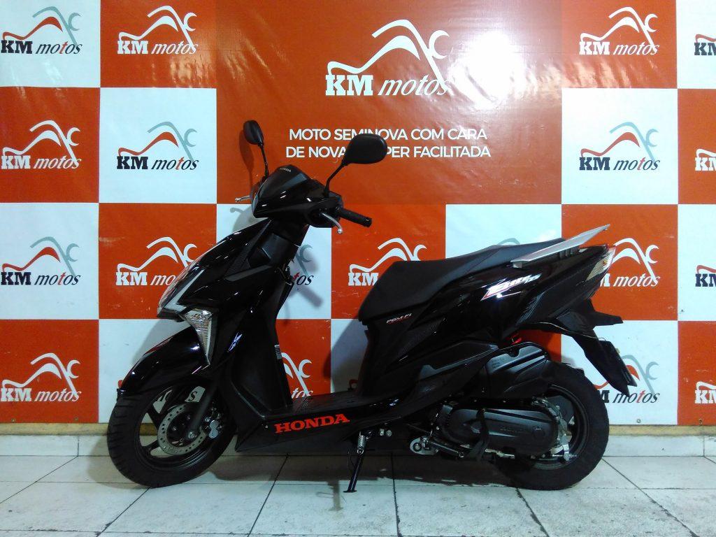 Honda Elite 125 Preta 2019