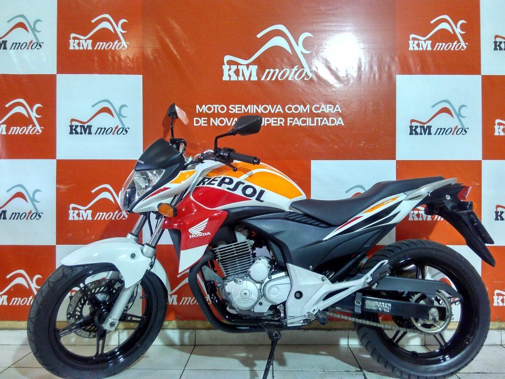 Honda CB 300 R 2014 Branca
