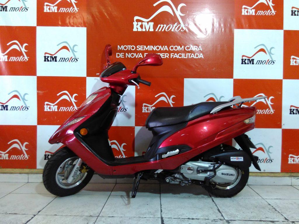 Suzuki Burgman 125 Vermelha 2013