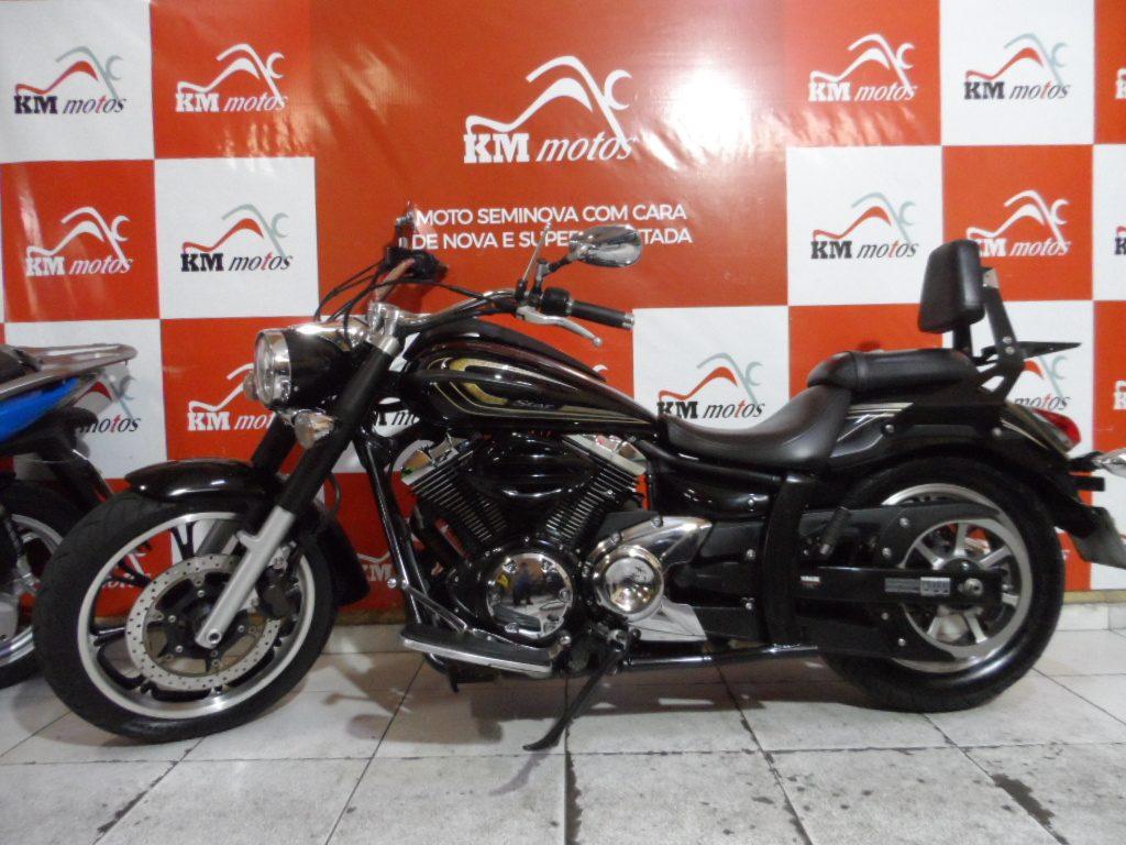 Yamaha midnight star 950 Preta 2014