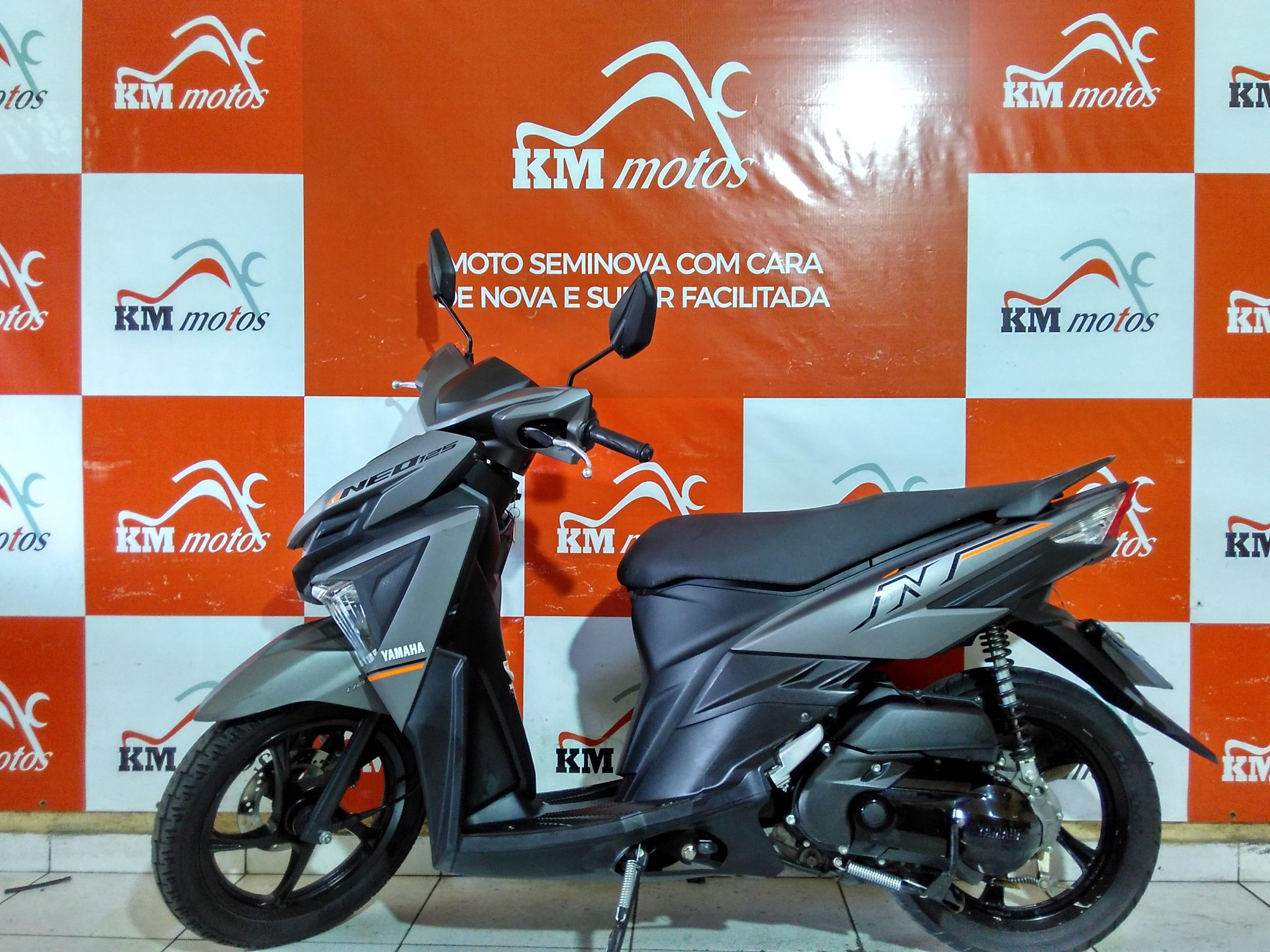 Yamaha Neo 125 Prata 2017