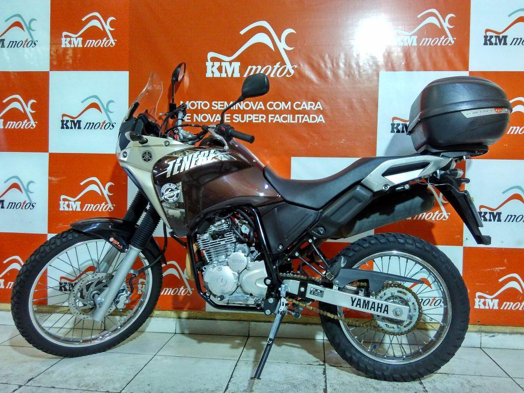 Yamaha XTZ 250 Tenere 2016 Marrom