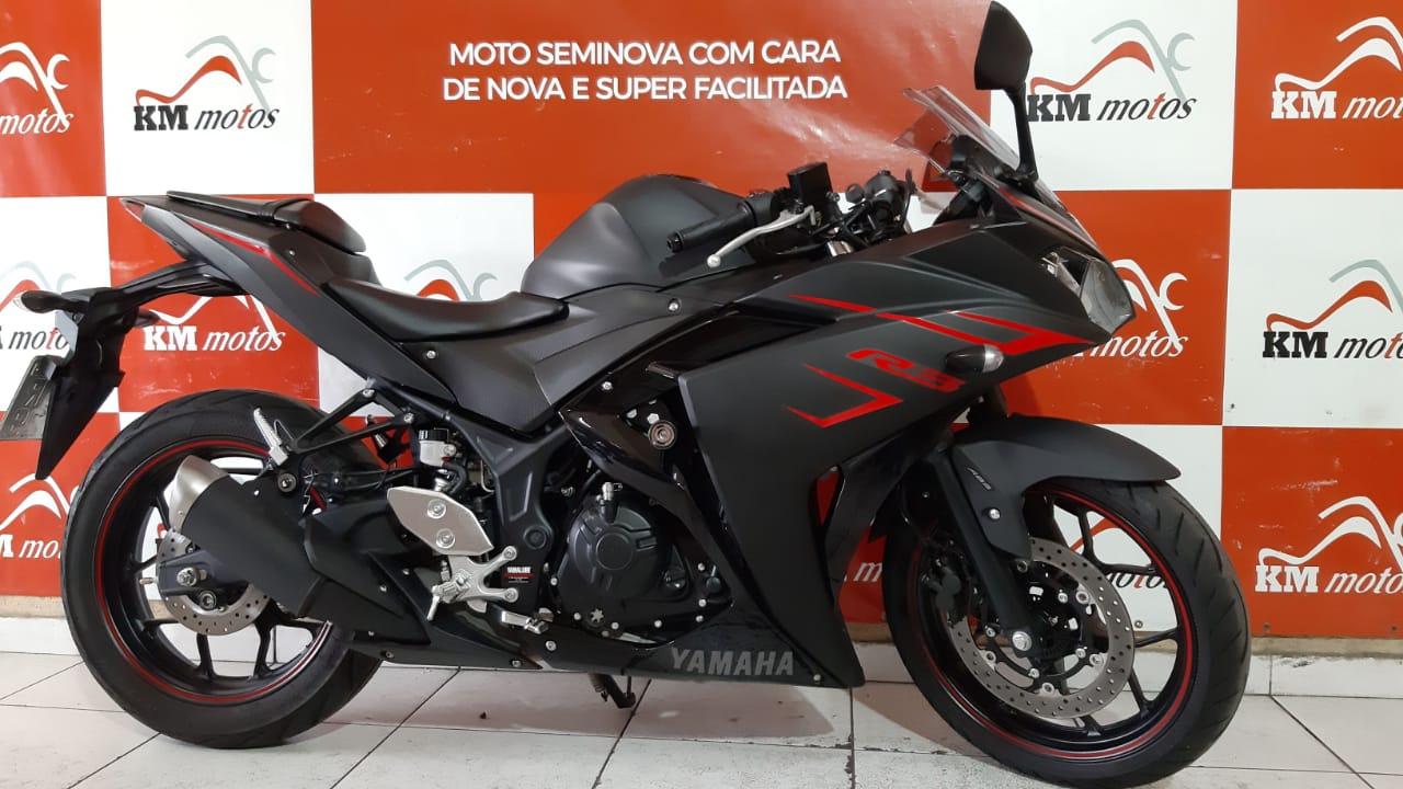 Yamaha Yzf R3 Abs 2018 Preta