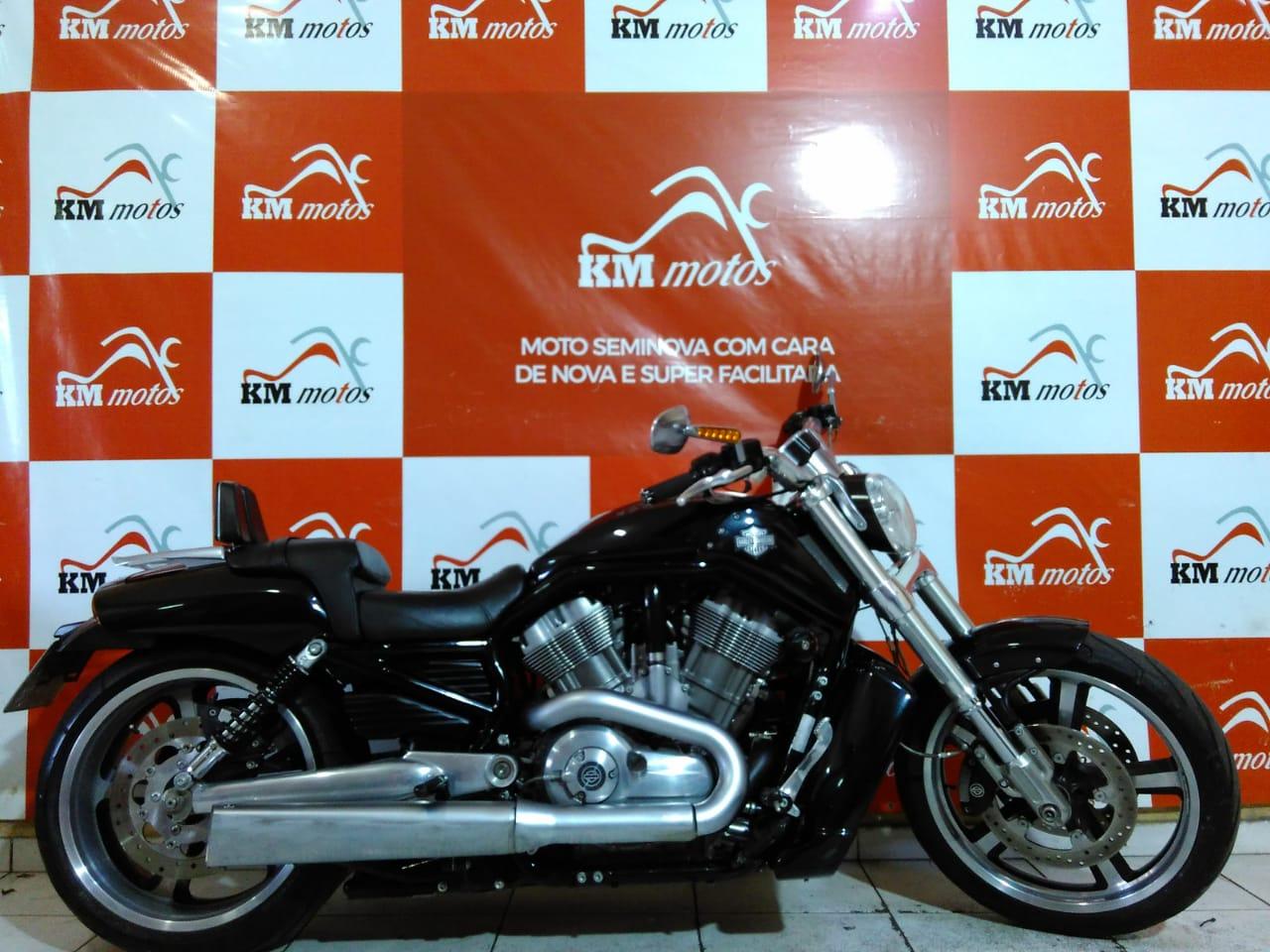 Harley Davidson V-Rod Muscle VRSCF 2013  Preta