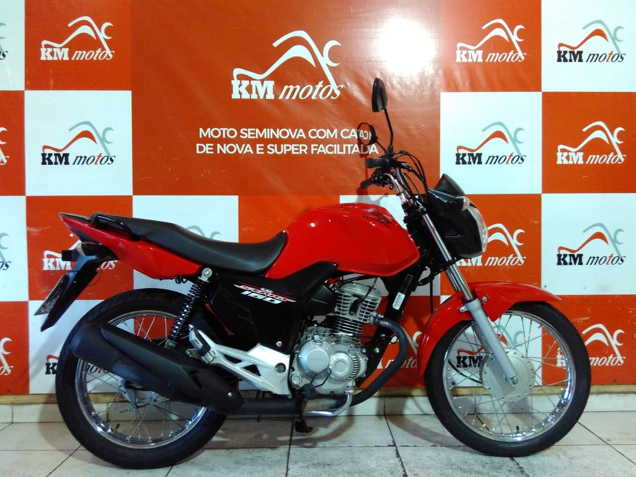 Honda Cg 160 Start 2019 Vermelha
