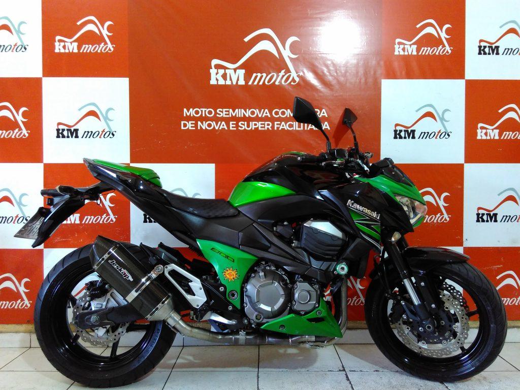 Kawasaki Z 800 Verde 2014