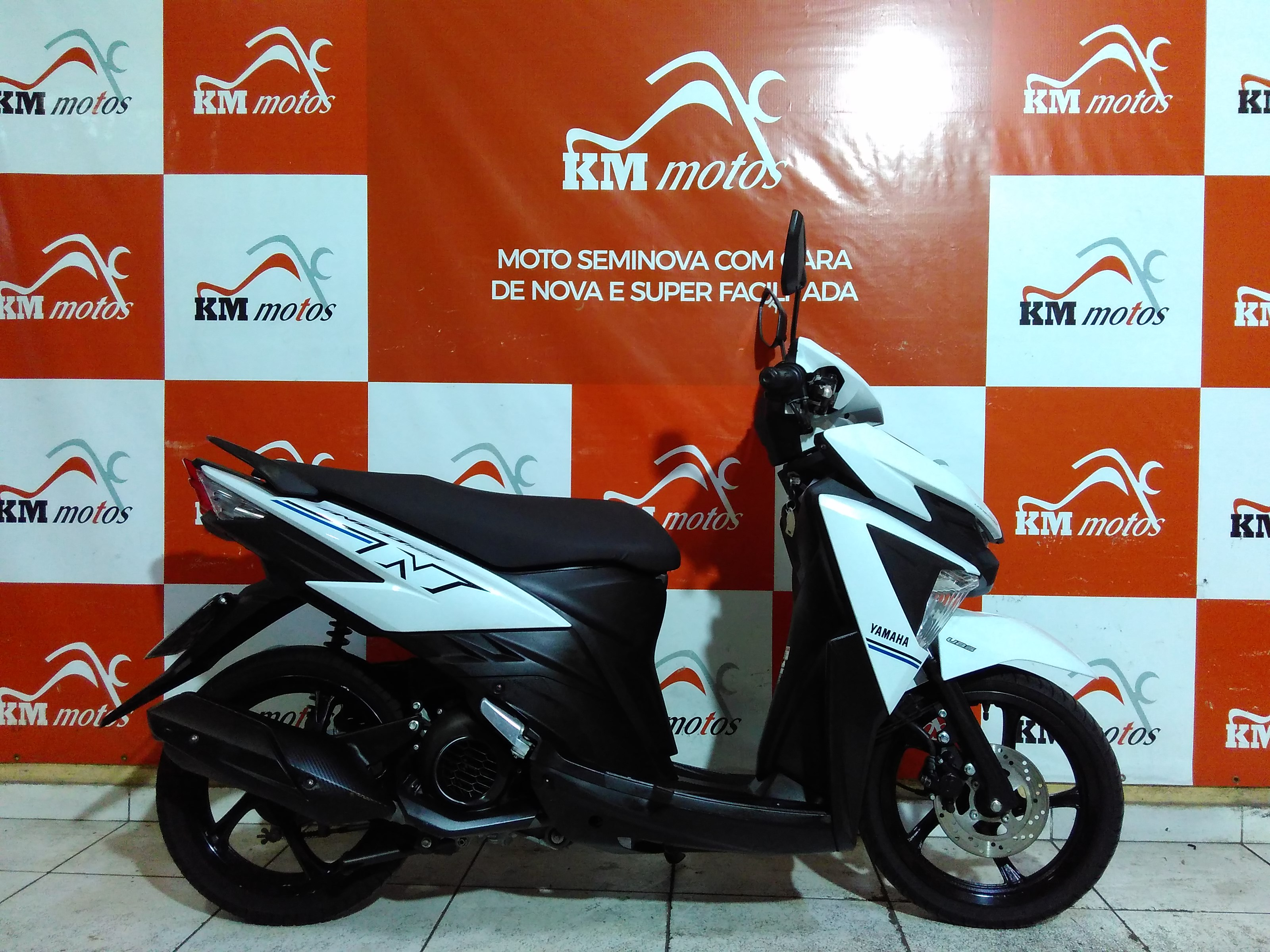 Yamaha Neo 125 Branca 2017
