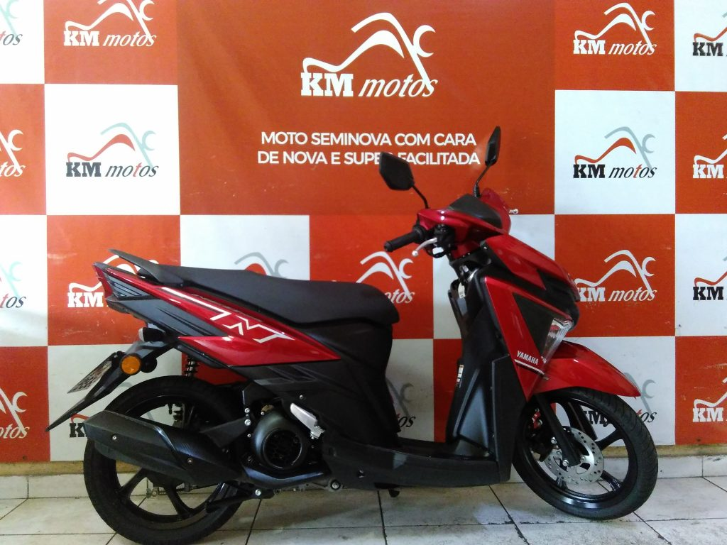 Yamaha Neo 125 vermelha 2020