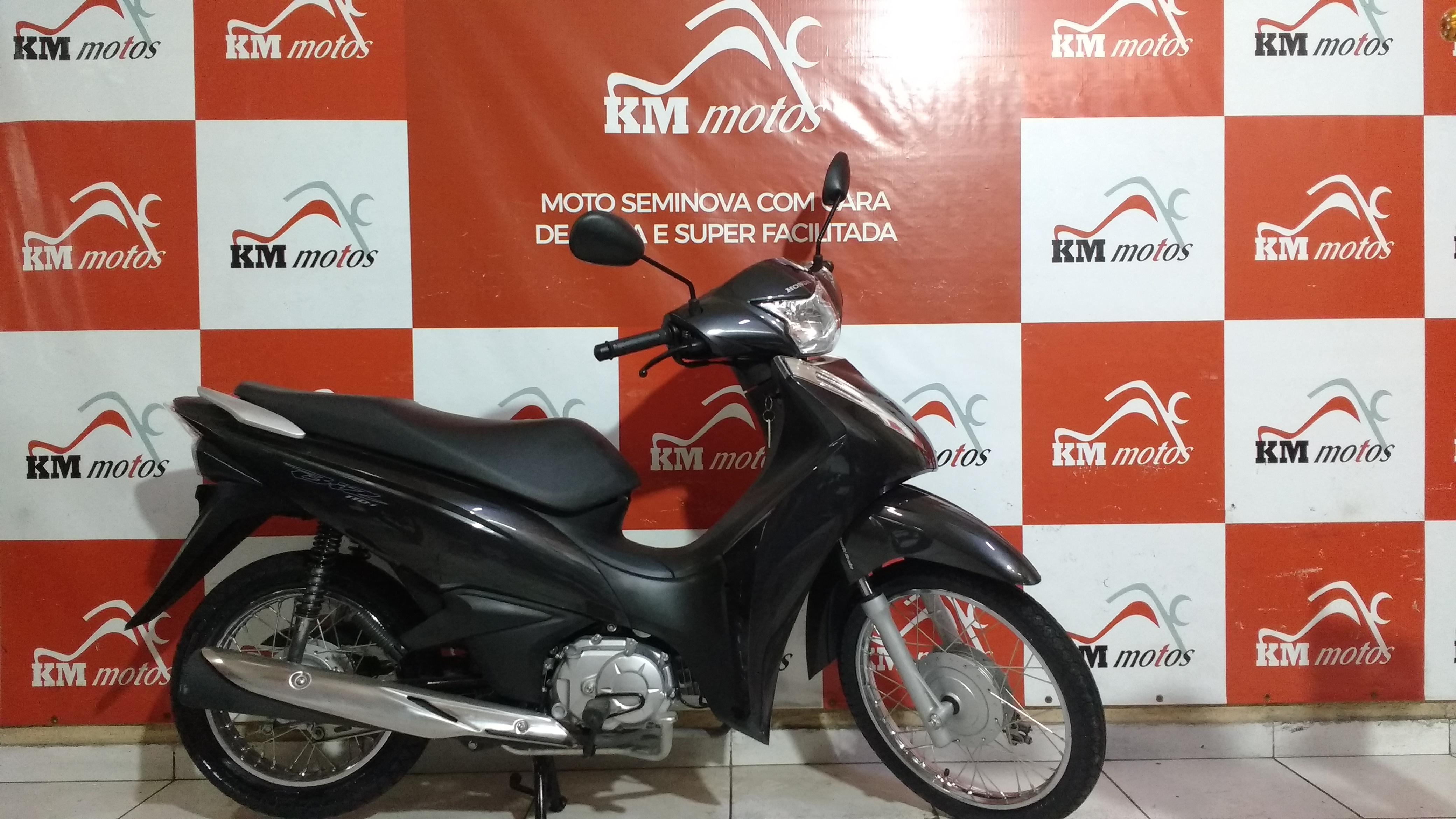 Honda Biz 110 I Cinza 2020