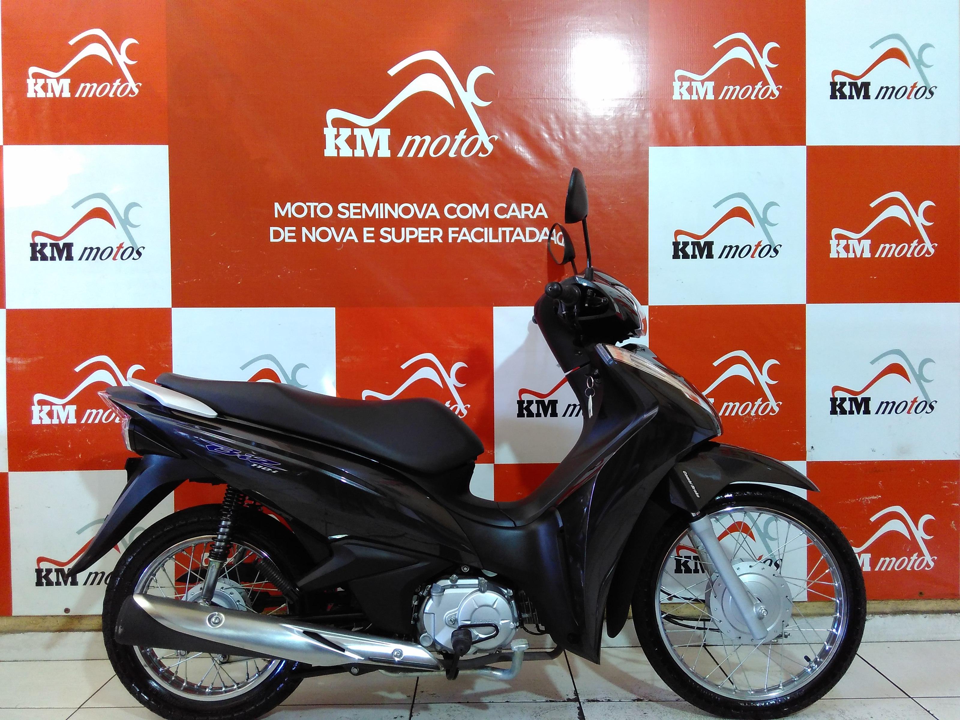 Honda Biz 110 Preta 2020